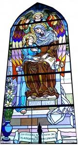 Witraż św. Anna