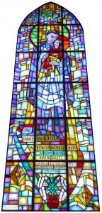 Witraż św. St. Kostka