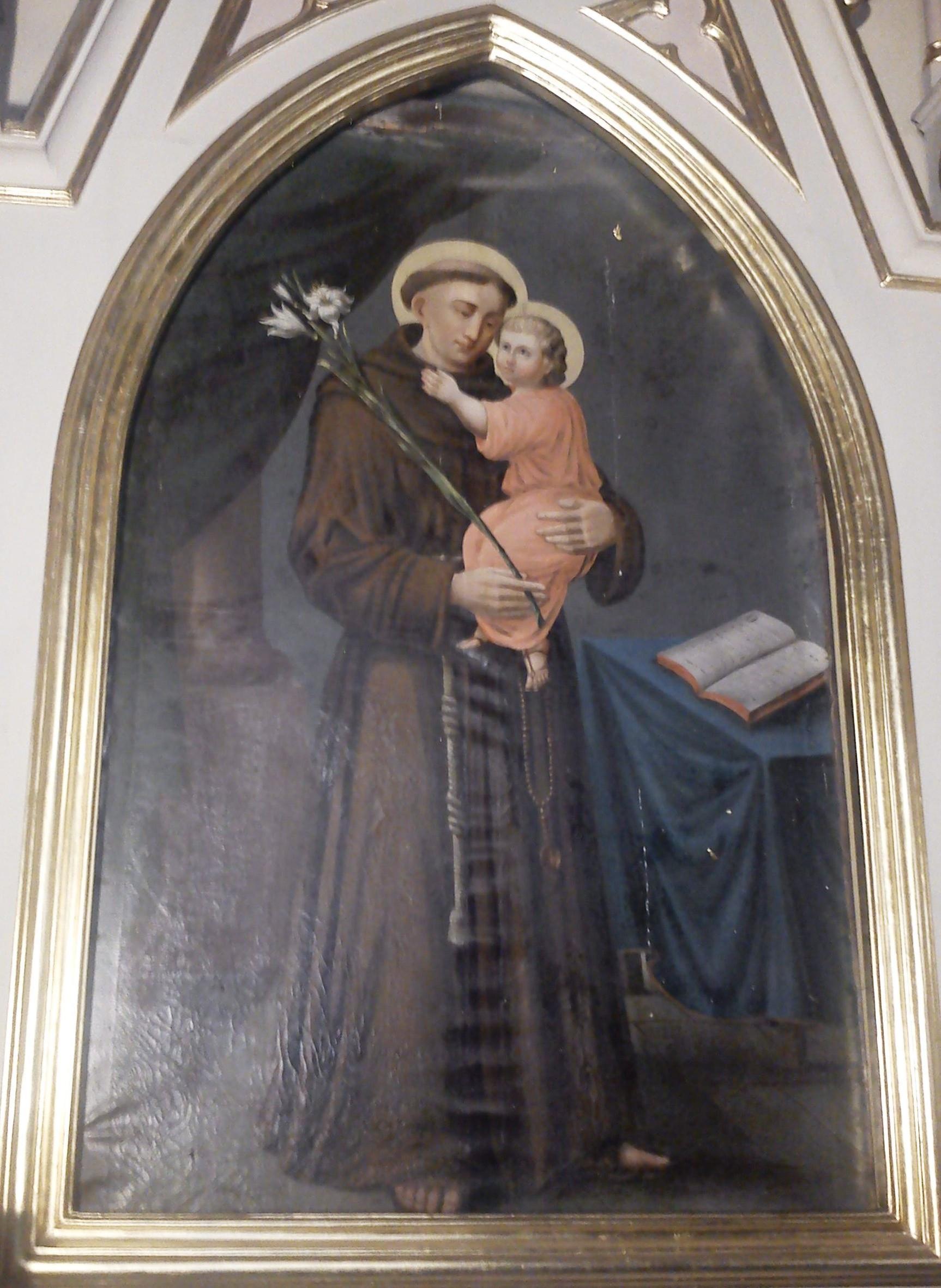 św. Antoni2 - ołtarz po lewej stronie kościoła